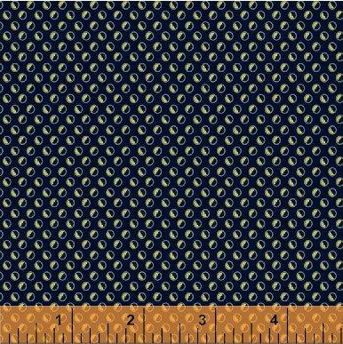 Aubergine # 33642-1 Navy Circle Dot