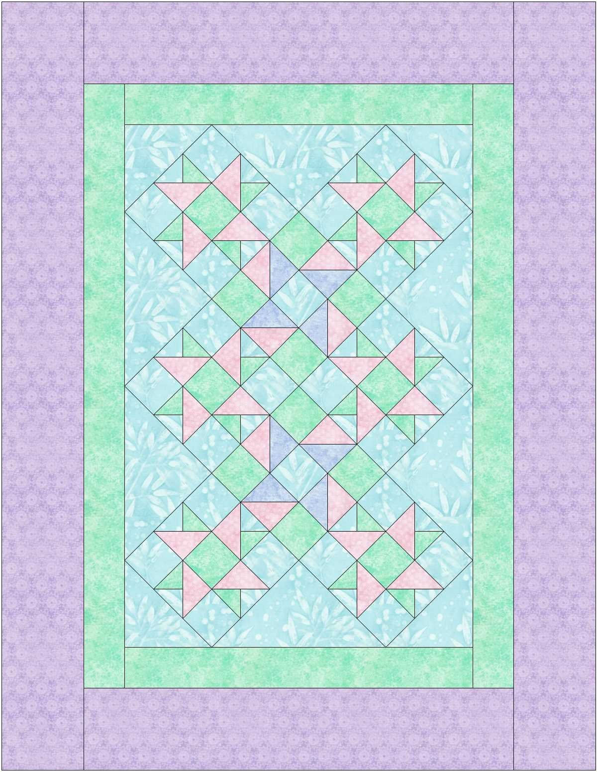 Ticket - Oh Baby Quilt Pattern ONLY