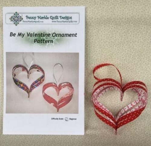 Be My Valentine Ornament Pattern
