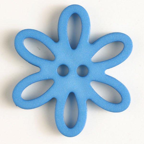 Dill Buttons 330746 Blue Flower