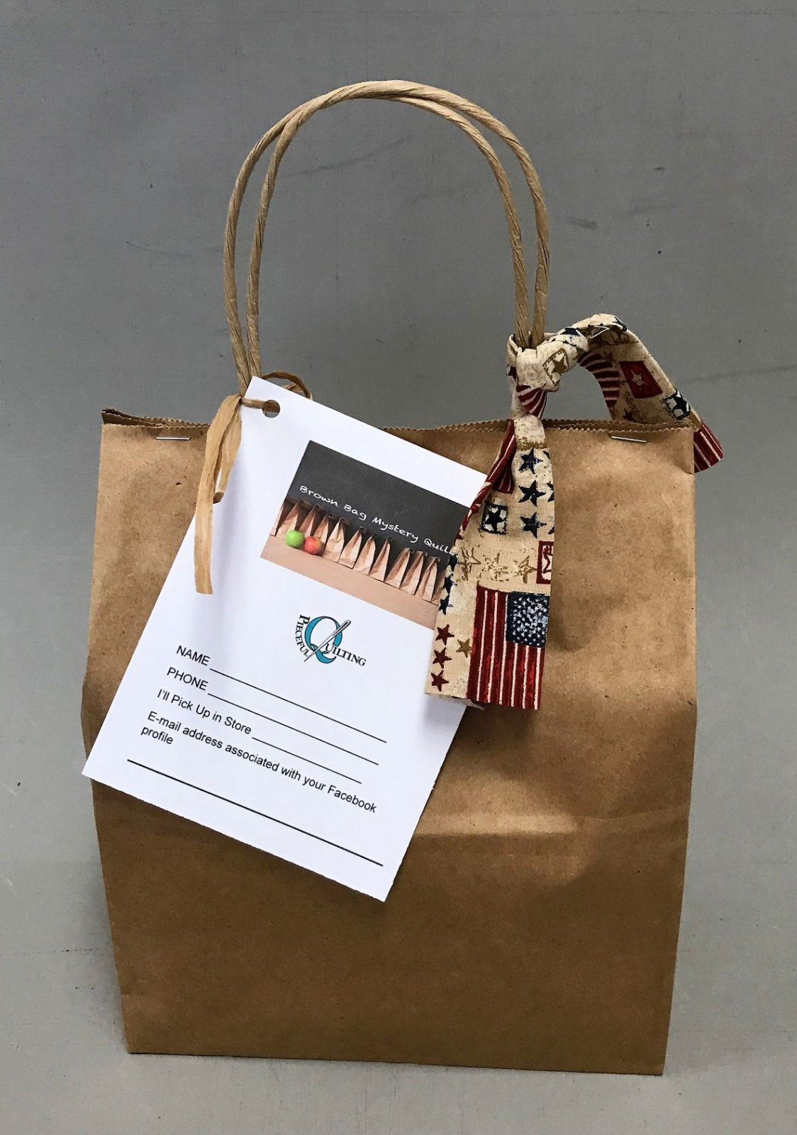 Brown Bag Mystery Patriotic