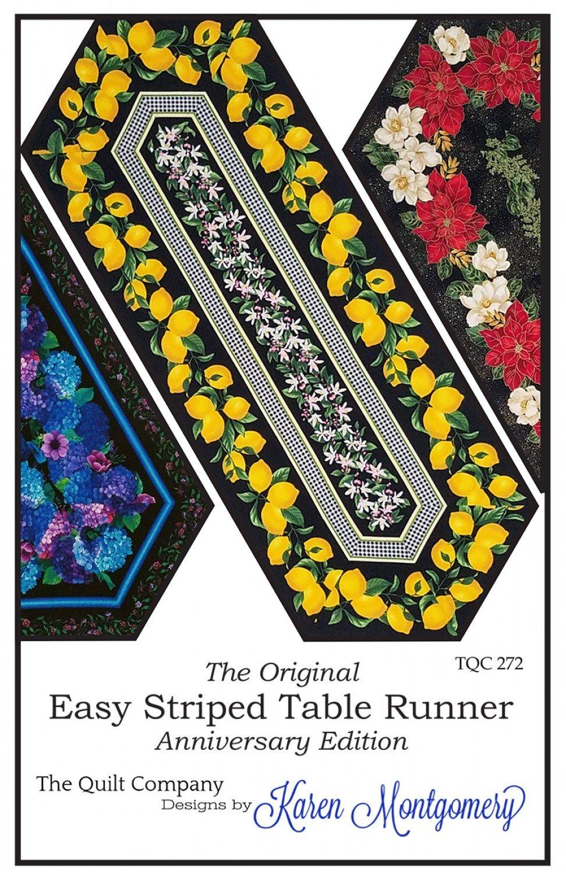 Easy Stripe Table Runner TQC272