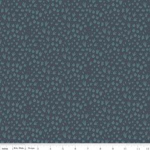 Fossil Rim Flannel F7145 Dk. Grey/Blue