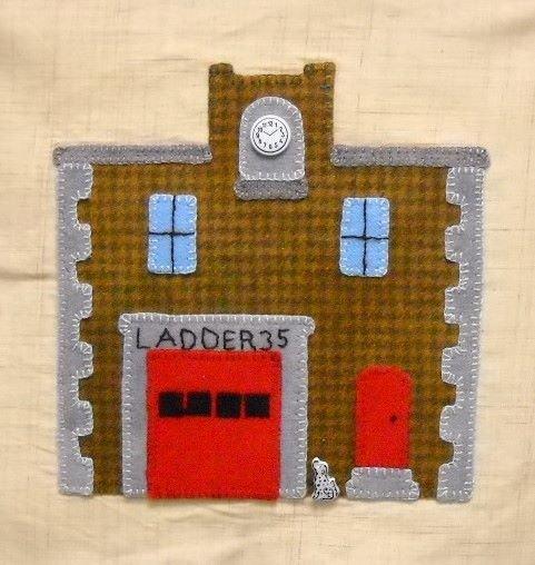 Village Firehouse PATTERN ONLY