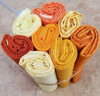 FQ Bundle (8) Yellow-Orange