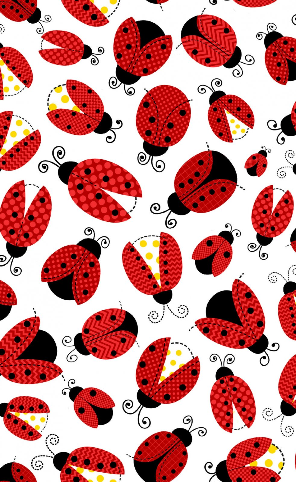 Fun Flannel Ladybugs