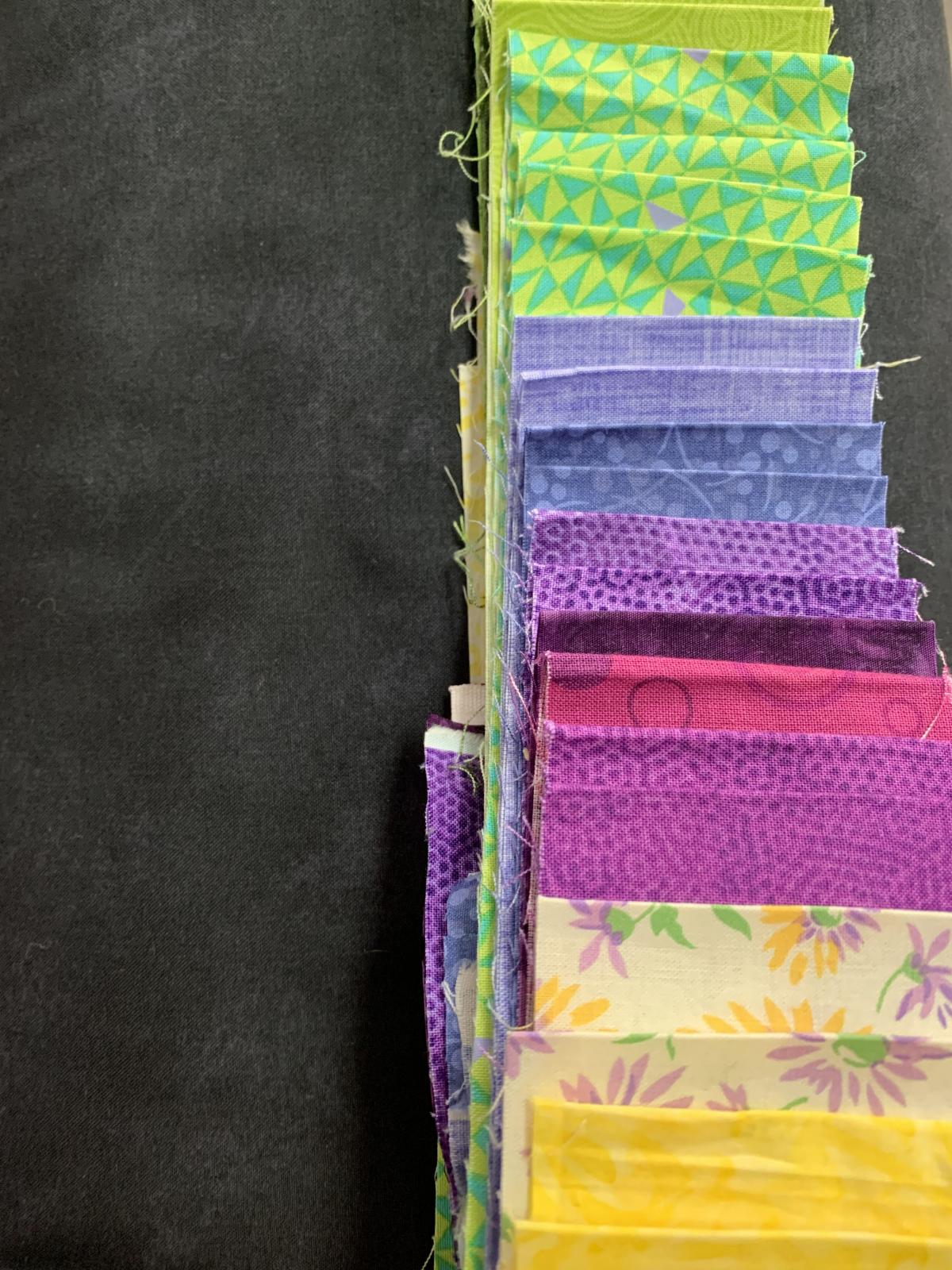 Virtual Getaway Kit Green, Purple, & Yellow BLACK BACKGROUND