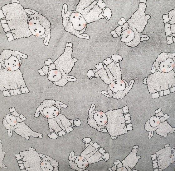 Grey Lambs Flannel