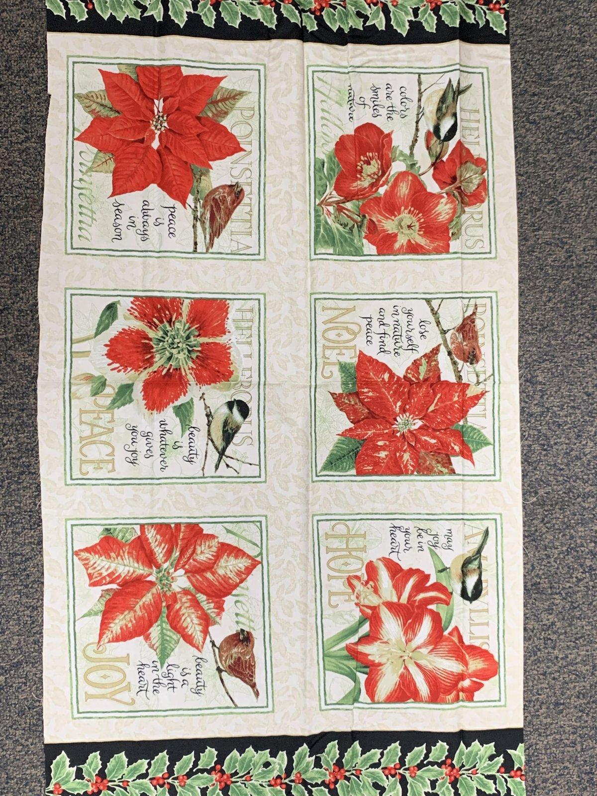 Holiday Botanical Panel