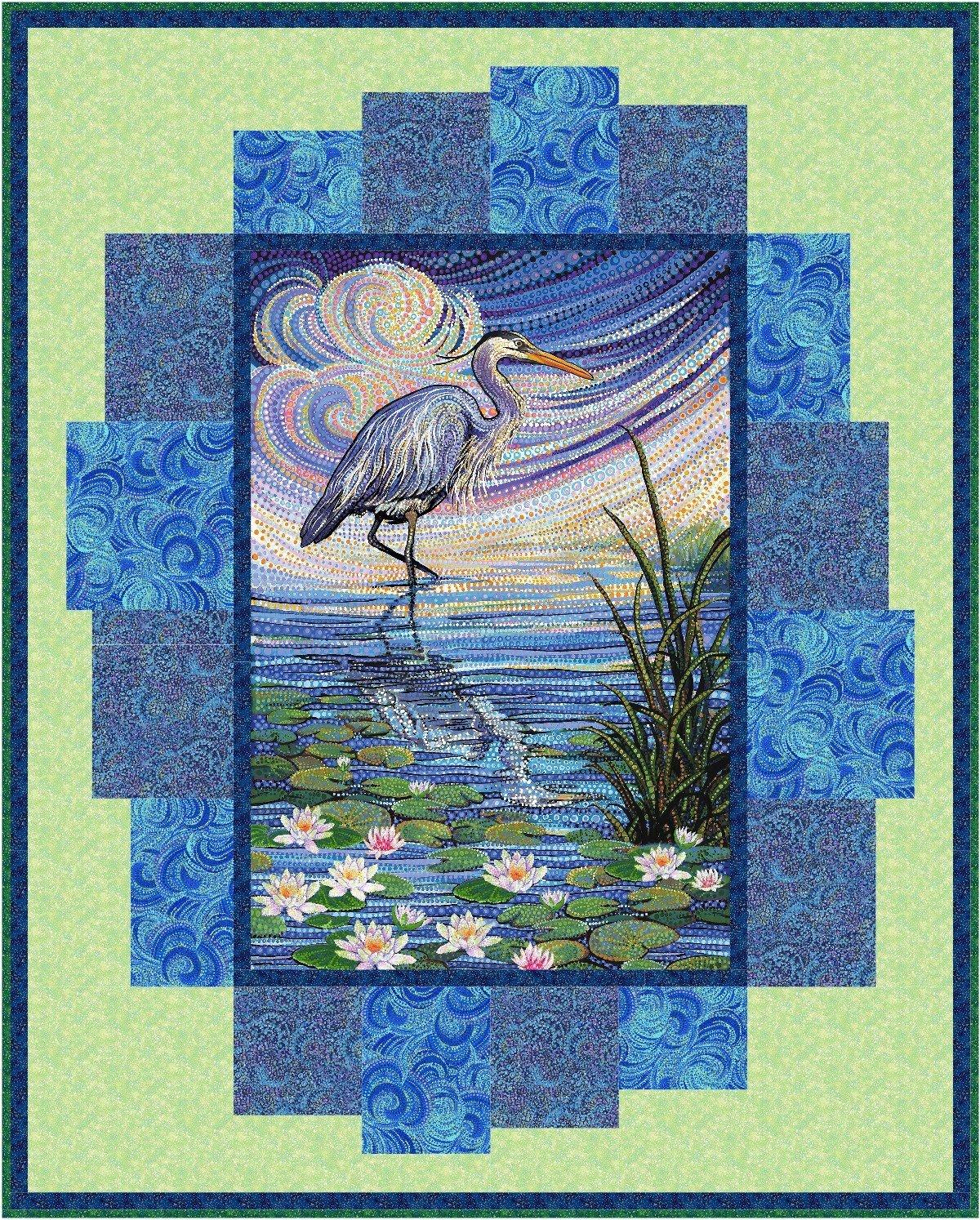 Water Garden Quilt