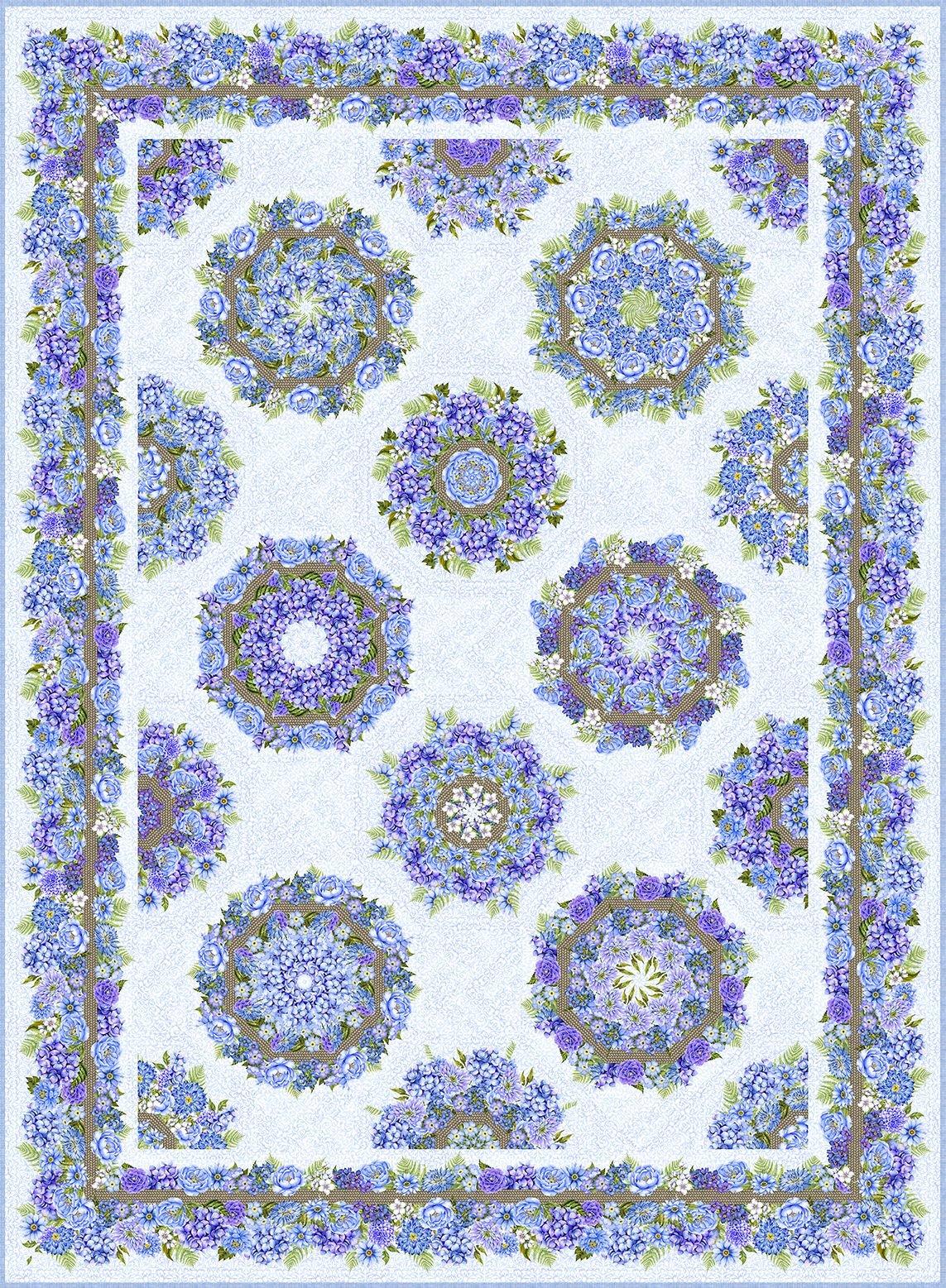 Karen's Garden Kaleidoscope Pattern