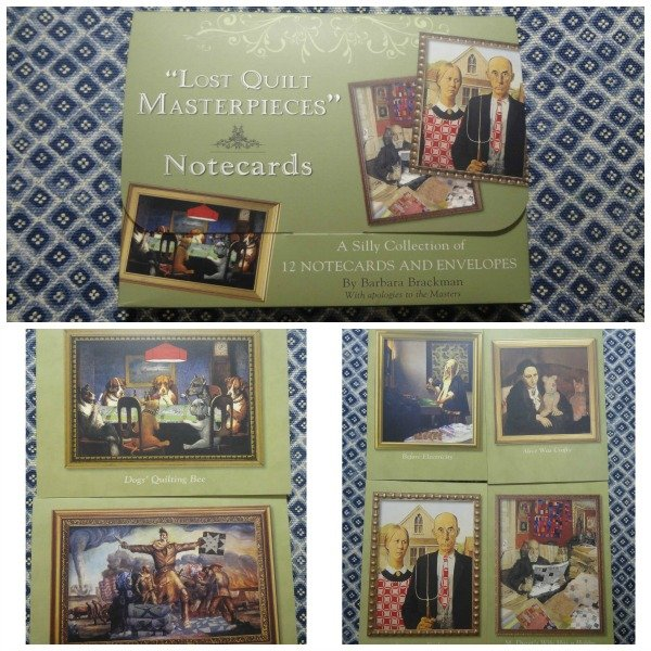Lost Quilt Masterpieces Notecards