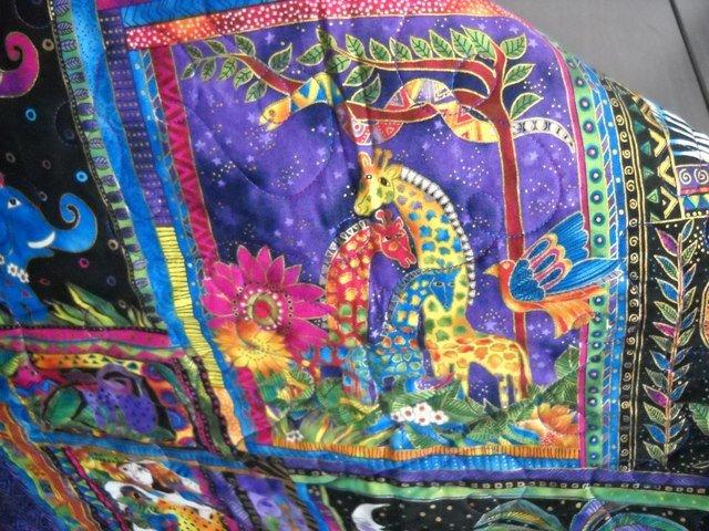 Laurel Burch - Mythical Jungle Quilt