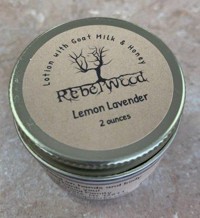Rebelwood Hand Balm Lemon Lavender
