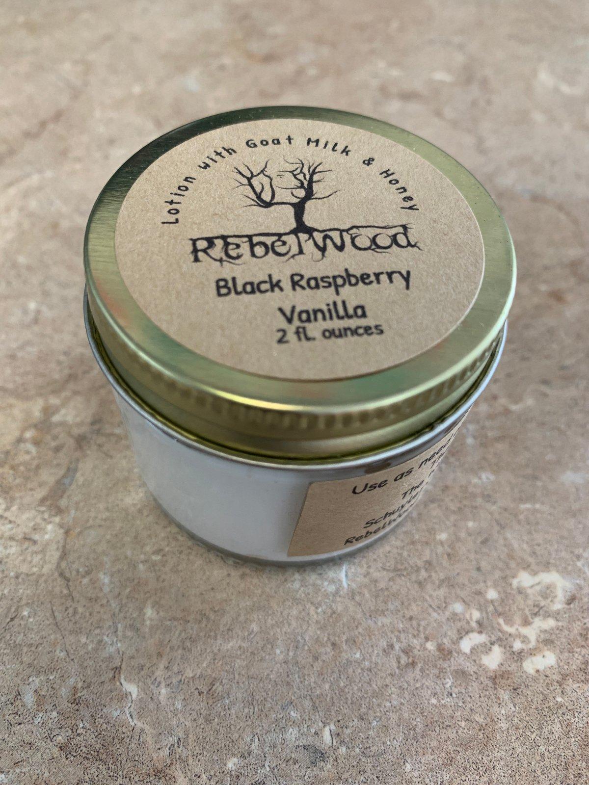 Rebelwood Black Raspberry and Vanilla Hand  Balm