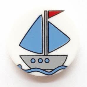 Dill Buttons 280789 Sail Boat