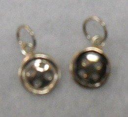Silver Charm-Button Silver
