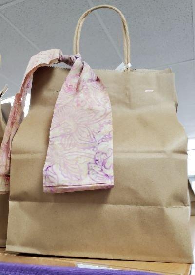 Brown Bag Soft Pink Batik 2021