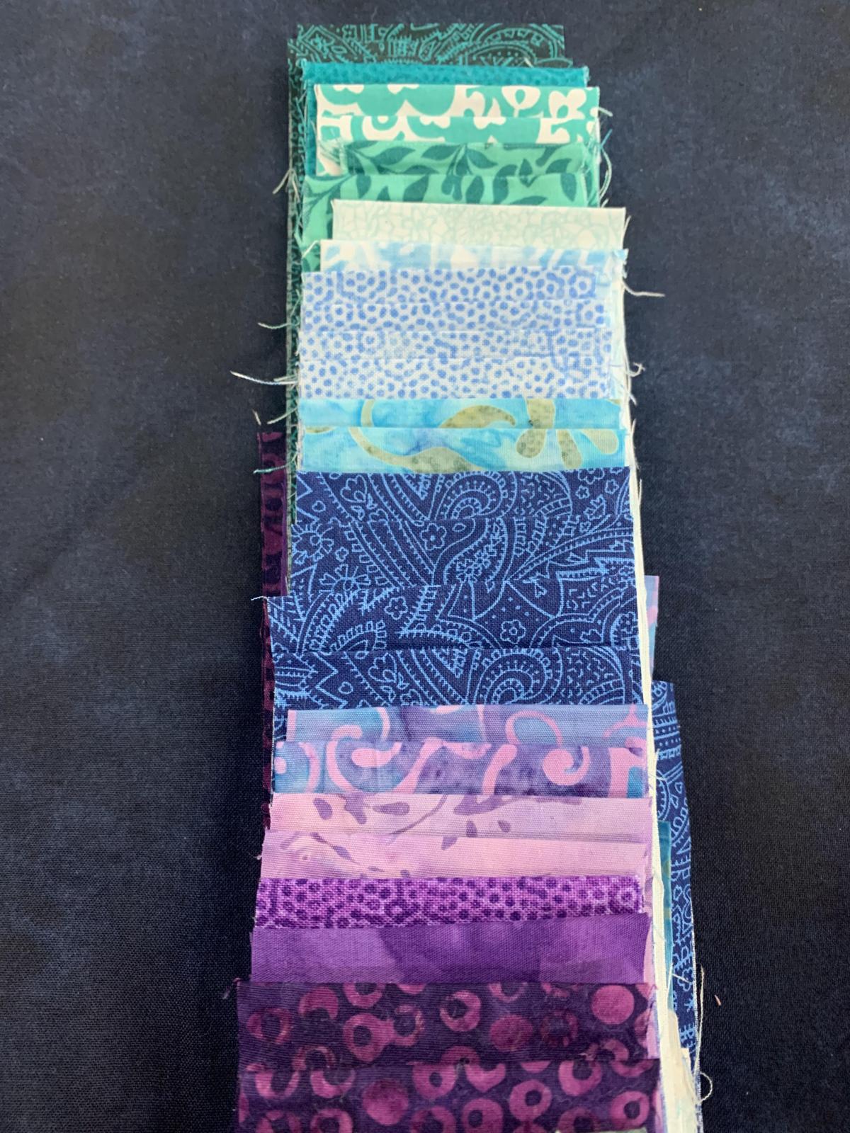 Virtual Getaway Kit Teal & Purple NAVY BACKGROUND