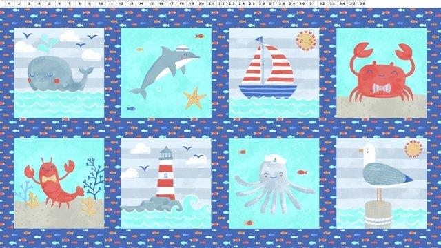 Sail Away y2149-31Panel