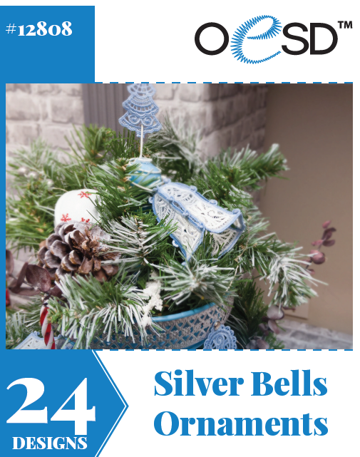 Silver Bells Ornaments