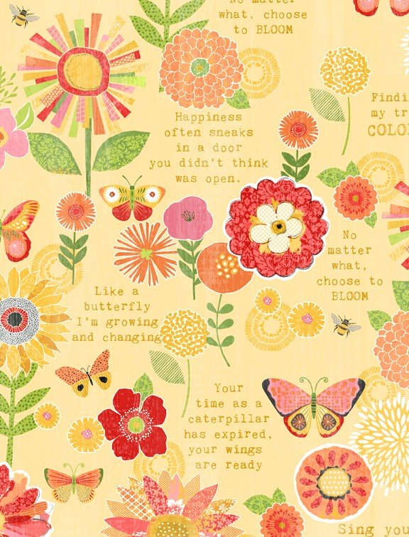 Sing your Song Flowers & Sentiments Yellow