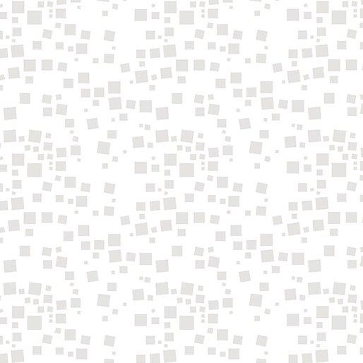 Cat-i-tude Small Geo Squares White
