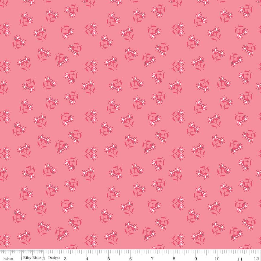 Flora Floral Pink
