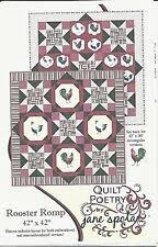 Rooster Romp Pattern