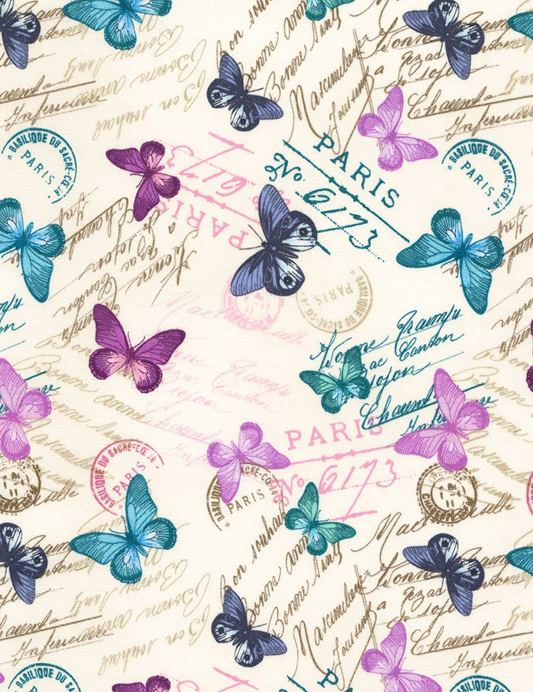 Bonjour - Butterflies and Writing