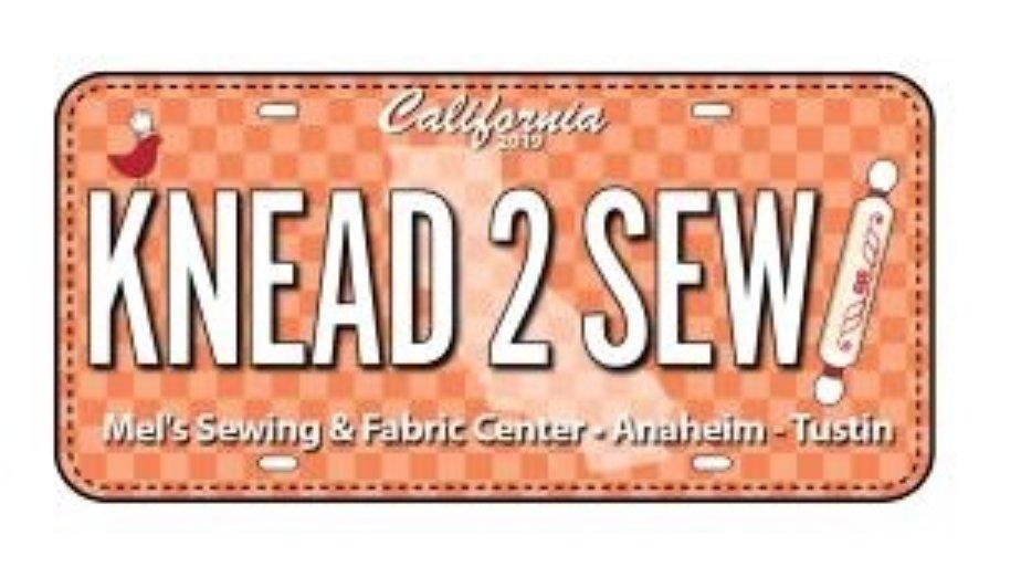 2019 Row by Row Fabric Plate