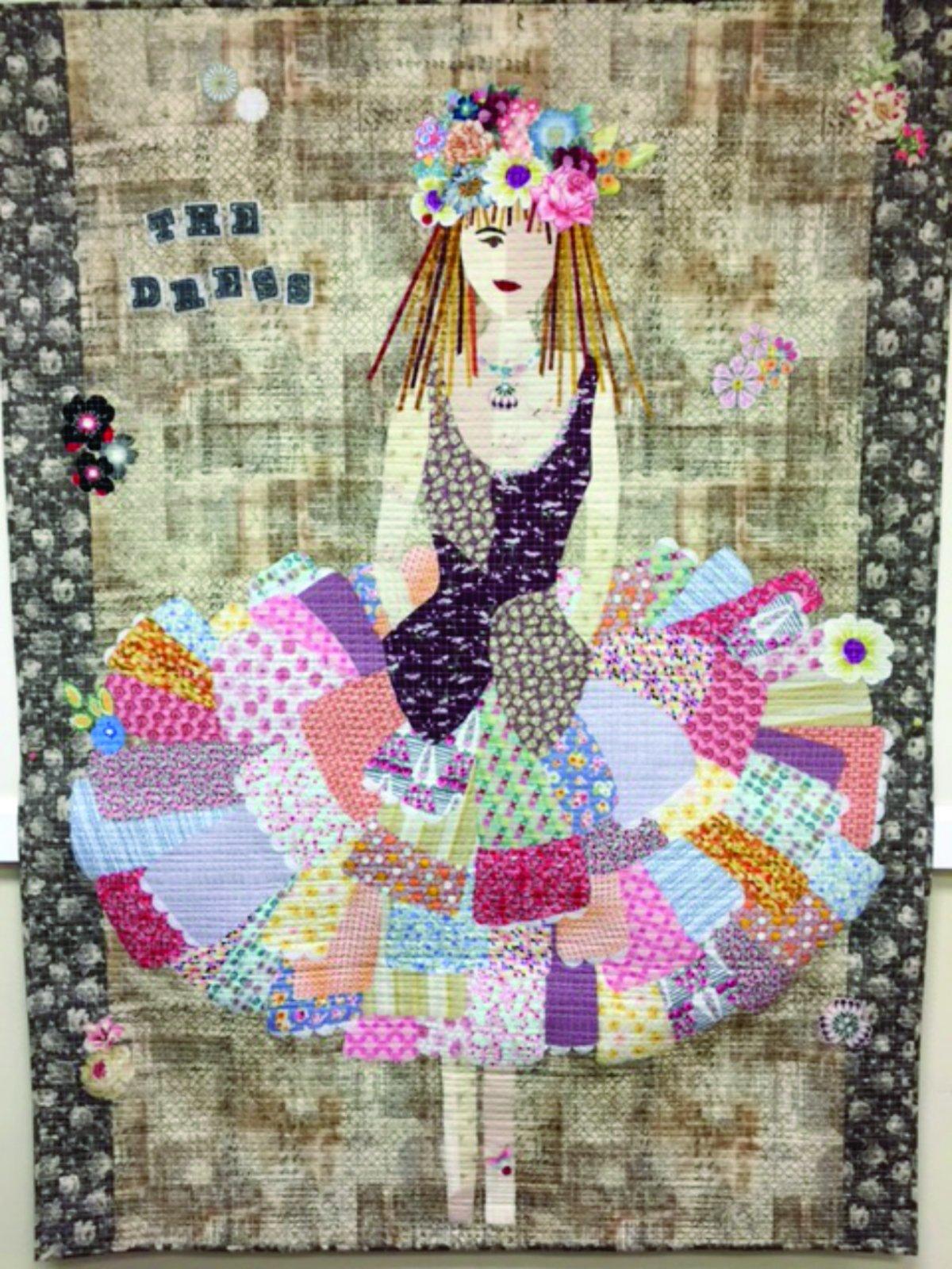the dress collage quilt anaheim