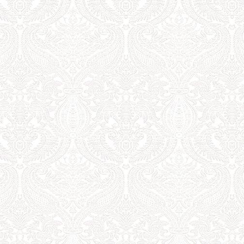 Damask White 5486-09