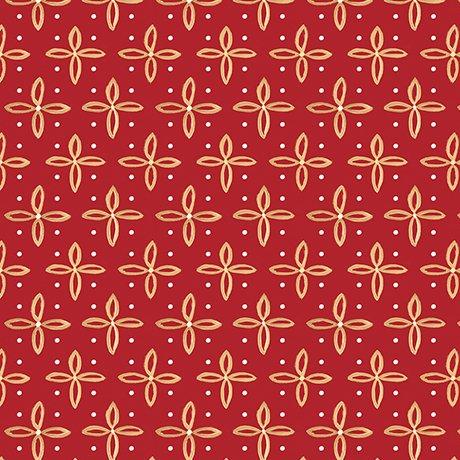 26478-R Star Foulard, Red