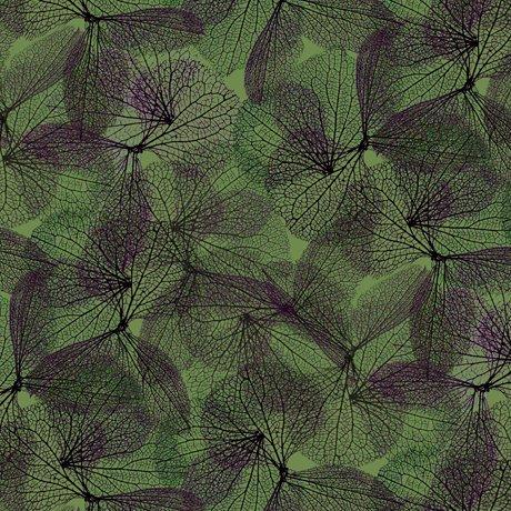 Emma 27358-G Leaf Vine - Moss