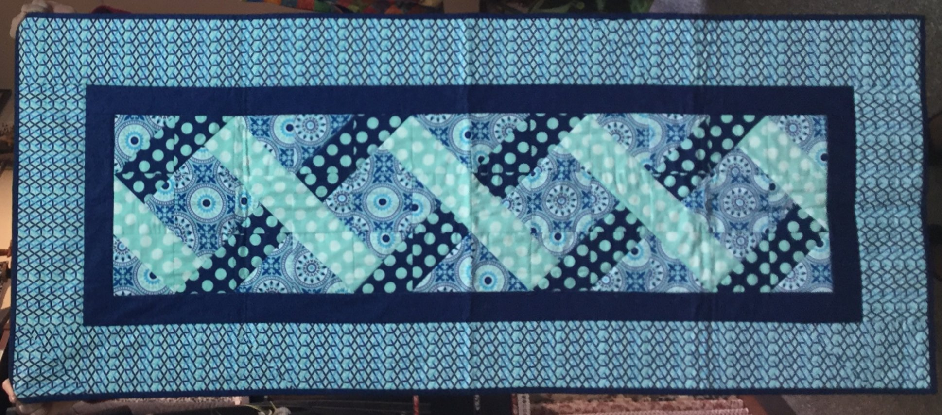 Cross Paths Bed Runner (24 x 58)