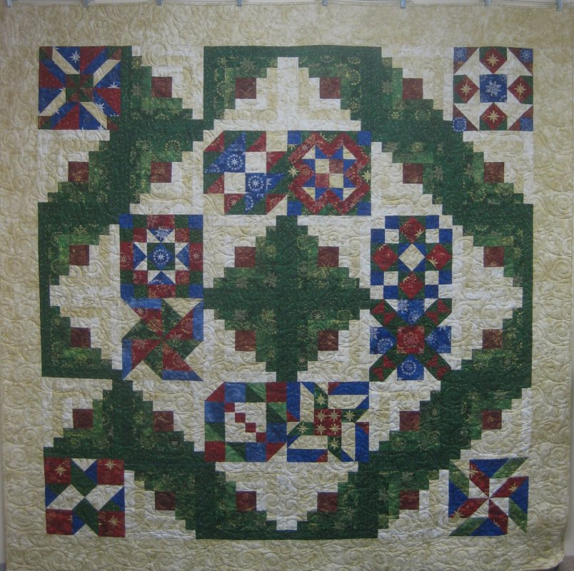 Broken Wreath Quilt