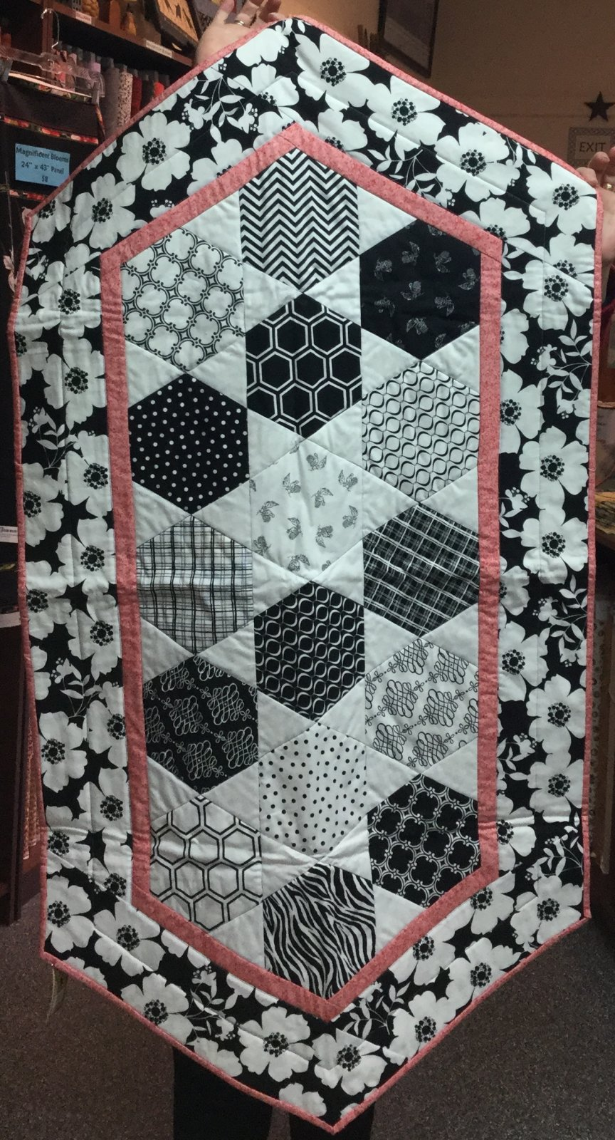 Opposites Attract Table Runner (29 x 55)