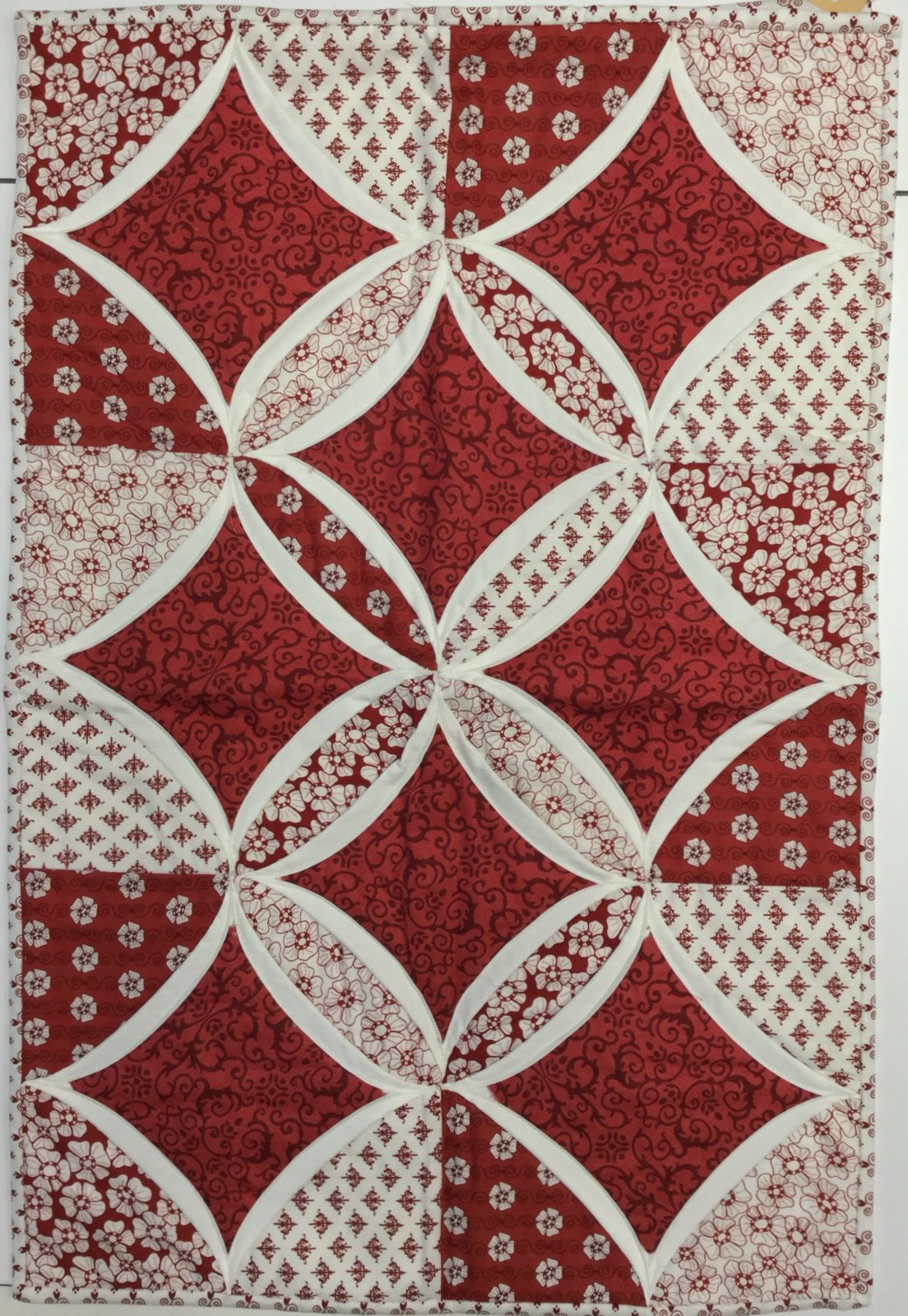 Red Window Wall Hanging (18 x 27)