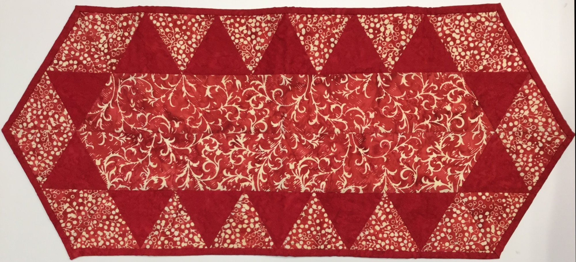 Red Table Runner (14 x 32)