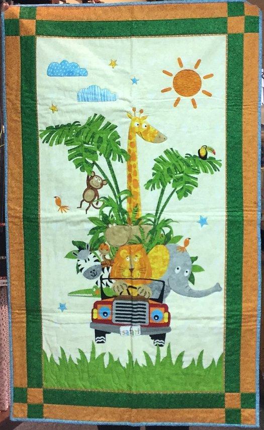 Safari Quilt (30 x 50)