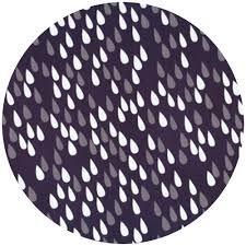STOF Raindrops Navy, White, Grey