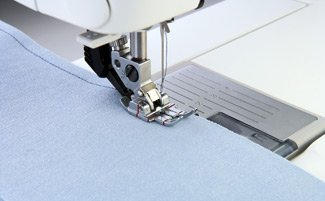 Pfaff 1/4 Quilting Foot with IDT (WITH OUT SIDE GUIDE)