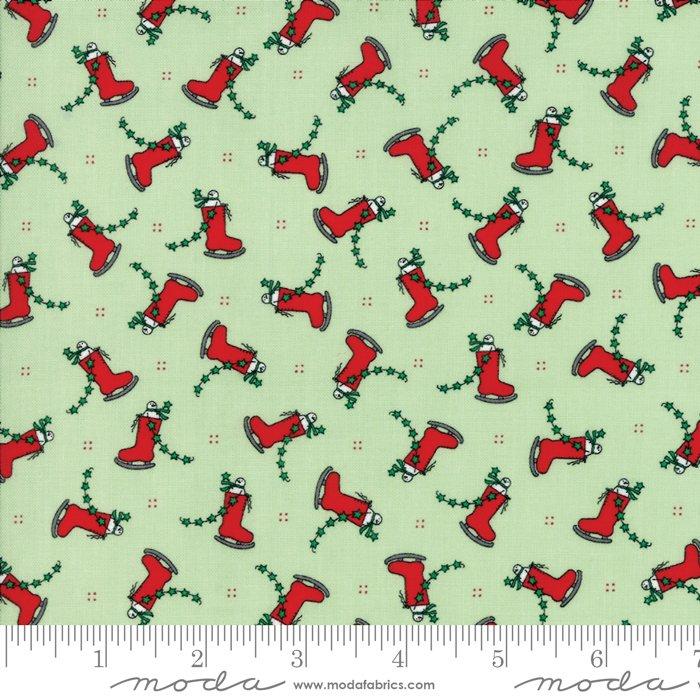 Moda Merry Merry Snow Days Spearmint 2943 12