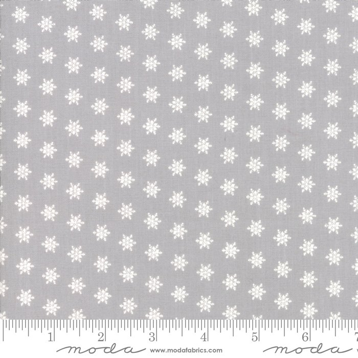 Moda Merry Merry Snow Days Grey 2946 13