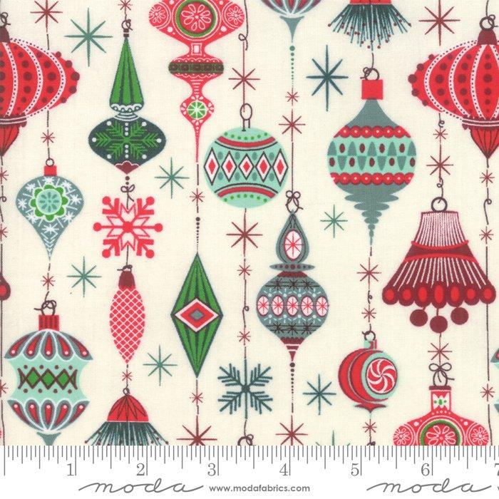 Moda Kringle Clause Snow 30591 11