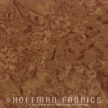 Hoffman - Coconut Brown Batik Blender