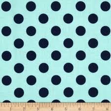 Riley Blake Medium Dots - Navy