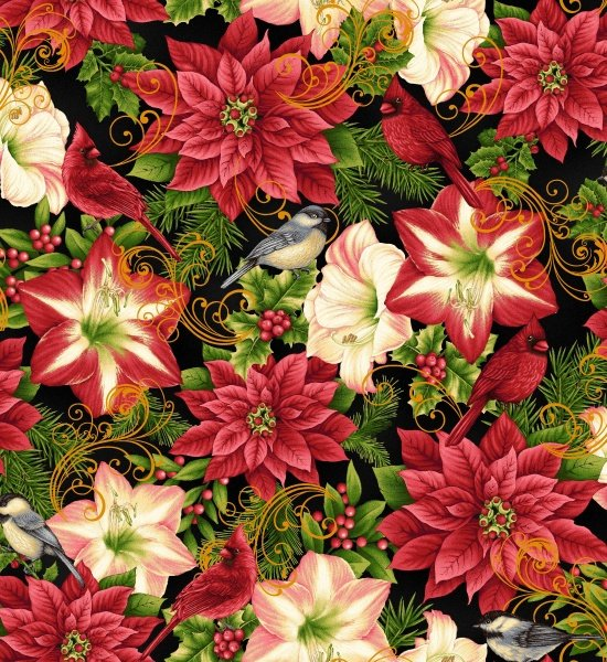 Studio E Fabrics Holiday Flair - 3781M 99