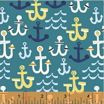Windham Fabrics - Seaside by Jill Mc.Donald - 42695-6